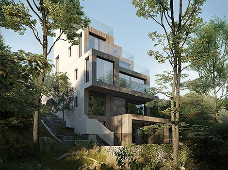 House Vienna Starh Archtecture Austria